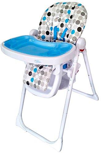 Bebe Style Baby Hochstuhl & Kinderhochstuhl – Multifunktionaller Babyhochstuhl, Babystuhl, Kinderstuhl & Kindersitz mit 3 Sitzpositionen