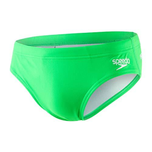 Speedo Herren Essential Endurance +, 7cm Kurze Schwimmen, Fluo Green, 36 (DE 6) (Schwimmen Männer Speedo)