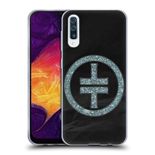 Head Case Designs Offizielle Take That Diamante Wonderland Soft Gel Huelle kompatibel mit Samsung Galaxy A50 (2019) Diamante Design
