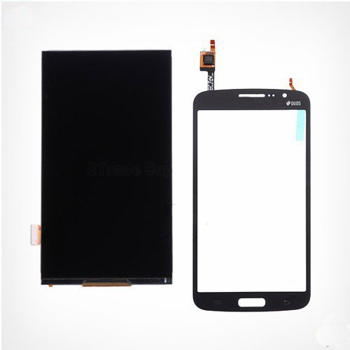 S&K ASSOCIATES LCD and Touch Digitizer for Samsung G7102/ Grand 2(Black)