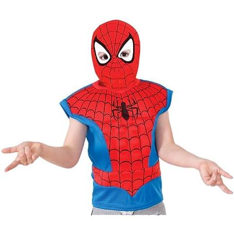Rubies - Máscara para disfraz Spiderman para niño a partir de 5 años (881307S)