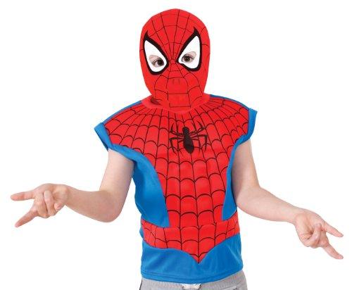 Spidermankostüm Kostüm Spiderman Spinnenmann Peter Parker Grüne Kobold Spinnennetz Gr. STD (Grüne Spiderman Kostüm)