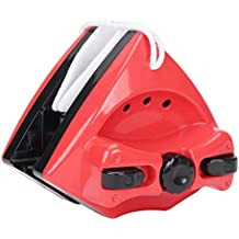 Fdit Limpiador Magnético para Vidrio Ventanas de Espesor 5-28mm Limpiacristales de Doble Cara Ajustable