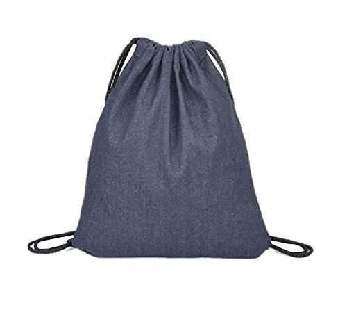 Imagen de laat bolsa con cordón bolsa para la escuela  de hombro  de cordón