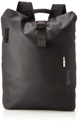 BREE Collection Unisex-Erwachsene Punch 713, Backpack M Rucksack, Schwarz (Black), 15x42x34 cm