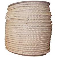 100% natürliche 8Strand Baumwolle Seil 6mm 30Meter