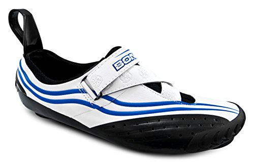 Bont Sub 10 Triathlon Cycling Shoes White / Blue Size 37