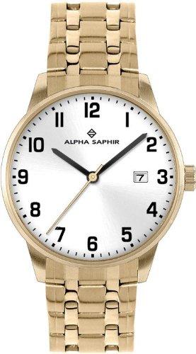 Alpha Saphir Damen-Uhren Quarz  Analog 314J