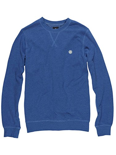 Element Cornell CR Crew Neck (dark charcoal) Cobalt