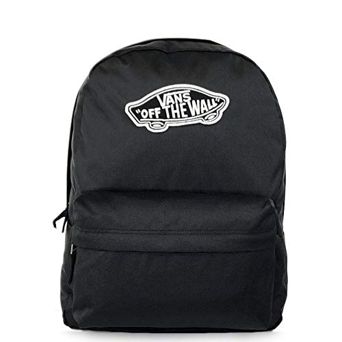 Vans Realm Backpack Zaino Casual, 42 cm, 22 liters, Nero (BLACK)