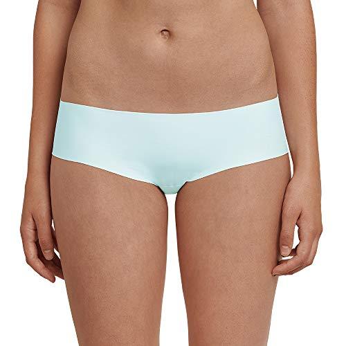 Schiesser Damen Invisible Panty Panties, Grün (Mineral 709), 38 (Herstellergröße: 038)