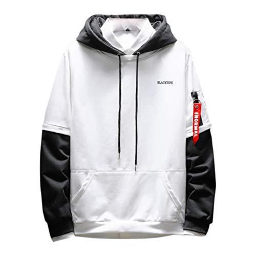 T.boys's Anzugjacke Herren Sweatshirt Hoodie Kapuzenpullover Pullover Streetwear Longsleeve Sweater Langarmshirt Sweatjacke