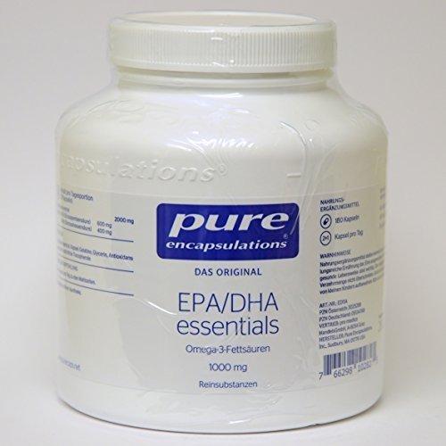 pure encapsulations EPA/DHA essentials 1000 mg, 180 St. Kapseln (Epa 1000 Mg)