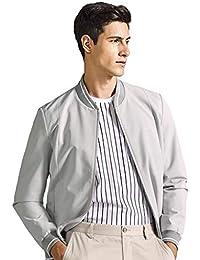 Cappotti Giacche Giacca Grigia Giacca per Adulti Giacca da Uomo  Abbigliamento Sportivo da Esterno Abbigliamento da f0f56360c67
