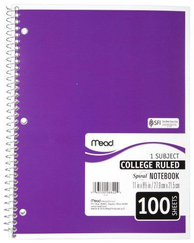 mead-mea06622-cuaderno-con-espiral-1-asunto-college-rule-100-sh-11inx8-50in-ast