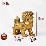 Figurina Figurine Statua Statue Statuetta Sculture in Bronzo di Buddha Unicorn Scultura Statua del Drago di Denaro Lucky Fortune Ricchezza Cinese di Feng Shui Arredamento Casa Ufficio Ornament