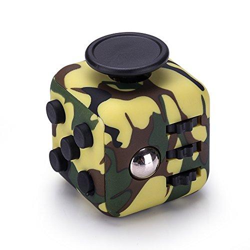 #Fidget Cube Anti Stress Würfel in Camo Grün von VAPIAO#