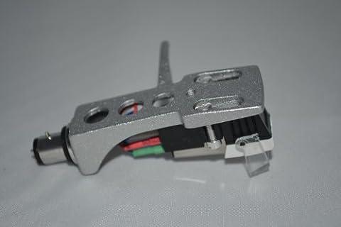 Porte cellule Argent avec cartouche pour platine Technics SL1000 Mk2, SL1000 avec Mk3, SL1100 SL1350 SL1400, SL1401 SL1650 SL1900 SL1950, électrophones