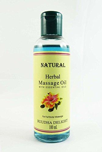 Huile de massage Bouddha Delight Natural Herbal Avec huile essentielle pour 100 ml Full Body