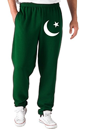 T-Shirtshock - Pantaloni Tuta TM0190 flag of Pakistan flag, Taglia S
