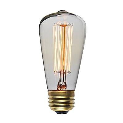 PureLumeTM Vintage Edison S15 Lampe (25W, E27, 220-240V) Ideal für Nostalgie und Antik Beleuchtung von PureLume - Lampenhans.de