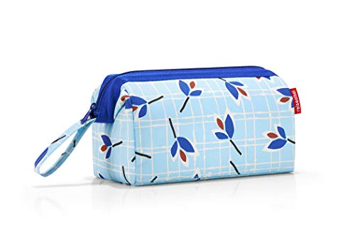 Reisenthel travelcosmetic Krawattenetui, 26 cm, 4 L, Blue Leaves