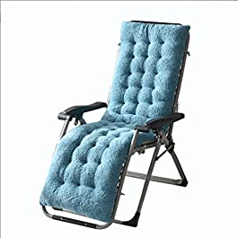 Glzcyoo Coussins Thicken Rocking Chair Coussin Canapé en Bambou Chaise Pliante Coussin Chaise en rotin Coton Pad Loisirs…