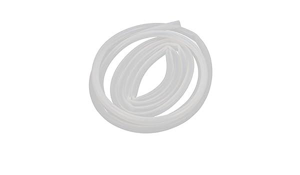 sourcingmap/® 10mmx13mm Transluzente Silikonschlauch Wasser hitzebest/ändige 1 Meter lang de
