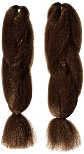 American Dream Super Soft Braid Farbe 6 - Braun 1, 2er Pack (2 x 1 Stück)
