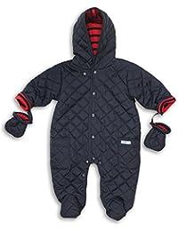 The Essential One - Trajes de Nieve Abrigo para bebé - azul marino - acolchado EO106