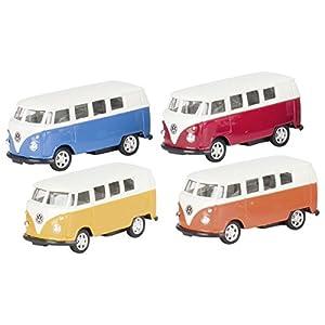 "Goki 4013594120302 Fahrzeuge VW Microbus (1962), Spritzguß, Maßstab 1:60"" - Producto (Spritzguß, Maßstab 1:60"")"