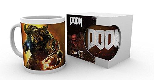 Doom-Cyber Demon-Tazza in ceramica-dimensioni 9,5cm