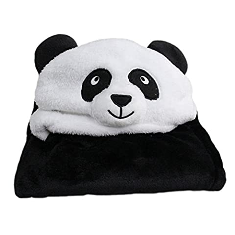 Bébé Panda - LATH.PIN Peignoir de bain à Capuche Serviette