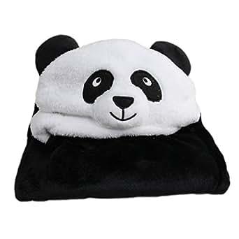 lath pin peignoir de bain capuche serviette de bain pour b b panda v tements et. Black Bedroom Furniture Sets. Home Design Ideas