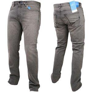 adidas Originals Mens M Rekord Jeans Carrot Fit (W37784) Grey rrp£75