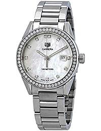 1fc07f2c7c09 Tag Heuer WBG1315.BA0758 - Reloj para Mujer con Esfera de nácar y Diamantes
