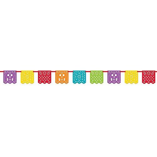 Unique Party 58688pepel (Picado Mexikanische Fiesta Banner, 13ft