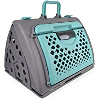 Wenzhihua - Mochila Plegable portátil para Mascotas, para Perros y Gatos