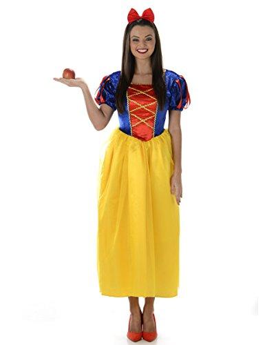 Schuhe Kostüme Schneewittchen (Karnival Costumes  - Schneewittchen Kostüm für Damen Taille)