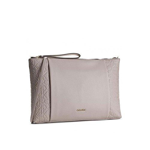 Borsa a Tracolla Grande | Calvin Klein Jeans Misha | P/E 2017 | K60K602643PE17-Mushroom