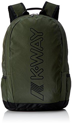 K-Way 7akk8123a9501, Zaino Uomo, Verde (A95 Green Wood), 13x45x33 cm (W x H x L)