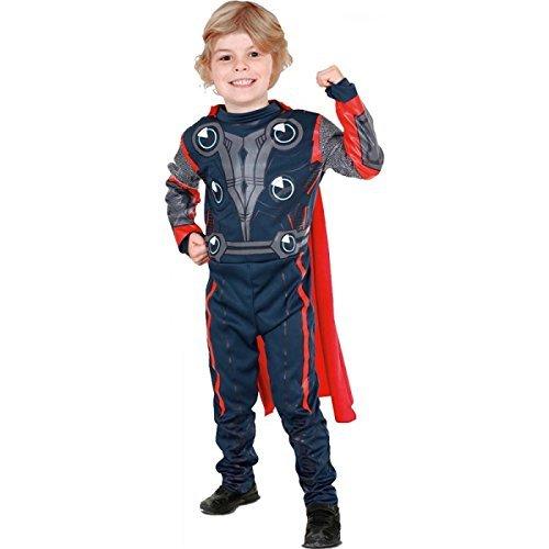 Imagen de the avengers  disfraz de thor para niño, talla s 3  4 años  881310s