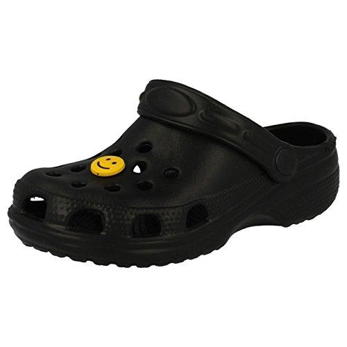 Carcassi - Scarpe con cinturino alla caviglia Unisex per bambini Black