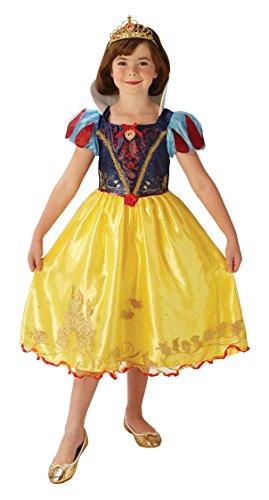 Rubie 's Offizielles Disney Princess Schnee weiß Kinder Deluxe (Schnee Kostüm Kind Prinzessin)