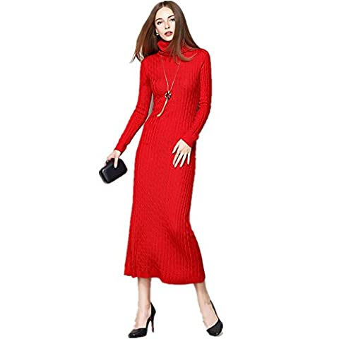 BestBang - Robe - Crayon - Femme - rouge - S