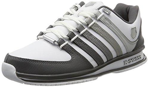 K-Swiss Herren Rinzler SP Sneaker, Weiß (White/Gray Gradient), 46 EU
