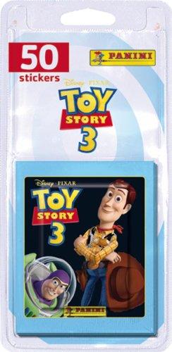 Panini - 1615-038 - Cartes à Collectionner - Toys Story 3 - Sticker - Blister de 10 Pochettes