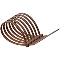 100mm x 2.5mm Brown Nylon Cable Ties (pack of 10)