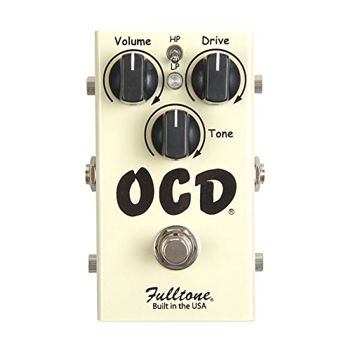 Fulltone OCD Obsessive Compulsive Drive Overdrive Guitar Effects Pedal (japan import)
