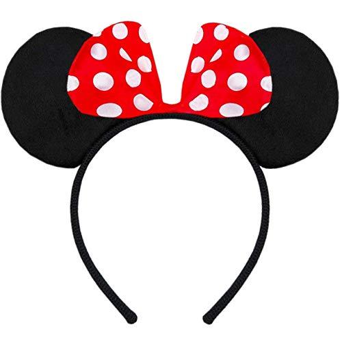 Hatstar Haarreifen mit Maus Ohren Minnie Mouse Ears -